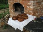 Хлеб на закваске в русской печи