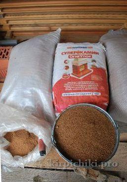 материалы для кладки русской печи